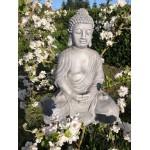 Grå Buddha 71 cm