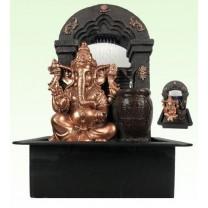 Ganesha fontæne m. lys