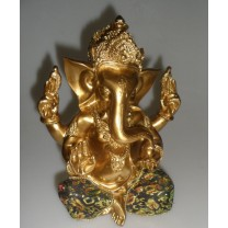 Ganesha i guld / sort