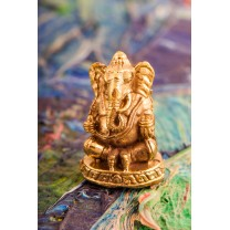 Mini Ganesha i messing