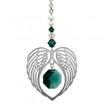 Engle vinge hjerte Emerald