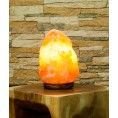 Salt krystal Lampe
