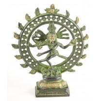 Shiva 15 cm messing