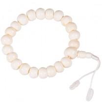 Mala naturlige knogler 21 perler
