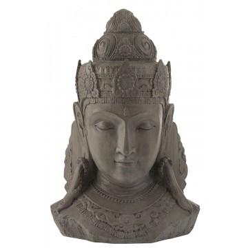 Buddha hoved GRÅ