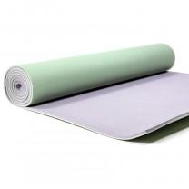 Yogamåtte i grøn / grå