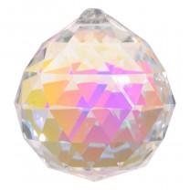Feng Shui Krystal 4 cm - dark pearl