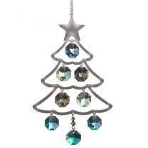 Krystal Juletræ Grøn