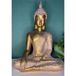 "Thai Buddha i ""witness the earth"" position"