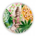 Te gaveæske m. krus, si og låg - Buddha