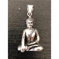 Stort Buddha vedhæng i sølv