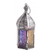 Orientalsk lanterne med glas