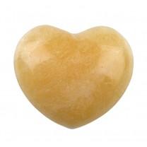 Orange calcit Hjerte