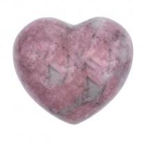 Rhodonit Hjerte