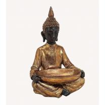Buddha med fad 37cm