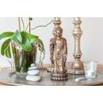 Stående Buddha-figur (Bronze finish)