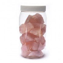 Rå Rosakvarts krystaller 1 kg