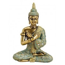 Buddha i guld / grøn