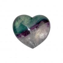 Fluorit Hjerte cm
