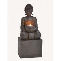 Buddha med plads til lys - på opsats