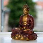 Mediterende Buddha på Lotus