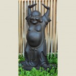 Buddha hotei havestatue