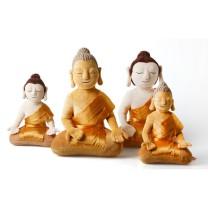 Buddha bamse model Thailand nøglering 14 cm