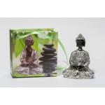 Lille Buddha figur i flot gavepose - variant C