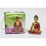 Lille Buddha figur i flot gavepose - variant D