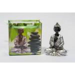 Lille Buddha figur i flot gavepose - variant E