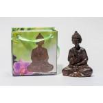 Lille Buddha figur i flot gavepose - variant F