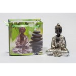 Lille Buddha figur i flot gavepose - variant I