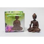 Lille Buddha figur i flot gavepose - variant K