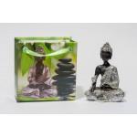 Lille Buddha figur i flot gavepose - variant L