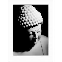 Buddha art print - dark - 0028