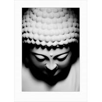 Buddha art print - dark - 0075