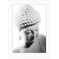 Buddha art print - light - 0032