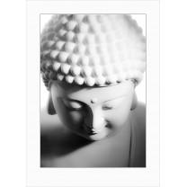 Buddha art print - light - 0069