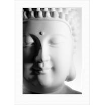Buddha art print - light - 0122