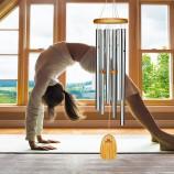 Yoga vindklokker med CD musik