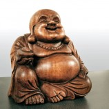 Buddha figurer i træ